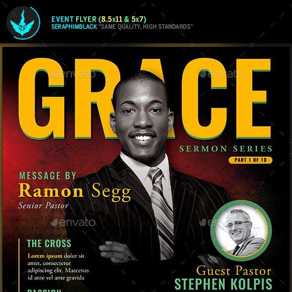 Grace Church Event Flyer Template