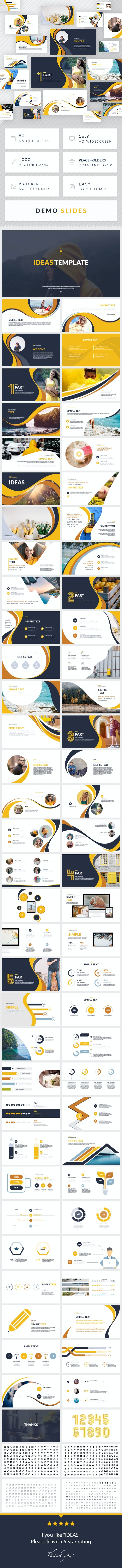 Ideas - Creative Keynote Presentation Template - Business Keynote Templates
