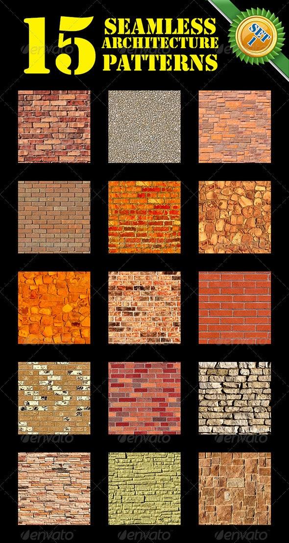 Seamless Walls Set 1 - Stone Textures