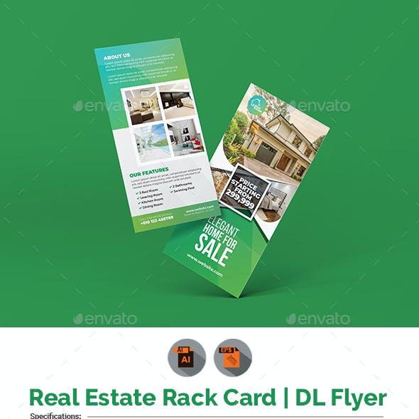 Real Estate Rack DL Flyer Template