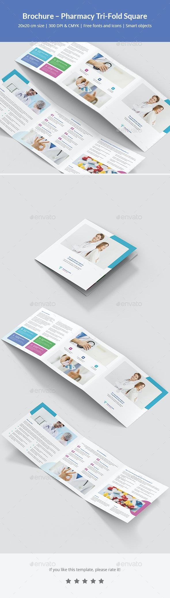 Brochure – Pharmacy Tri-Fold Square - Corporate Brochures