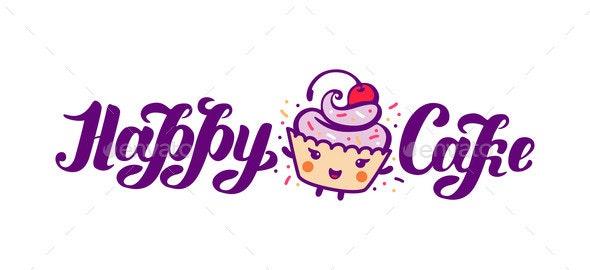 Vector Illustration Cake Graphic - Decorative Symbols Decorative