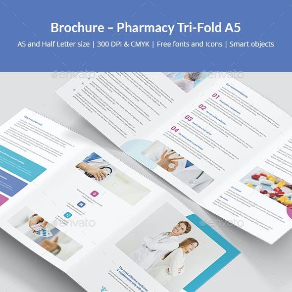 Brochure – Pharmacy Tri-Fold A5