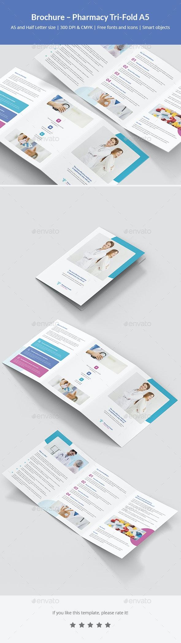 Brochure – Pharmacy Tri-Fold A5 - Corporate Brochures
