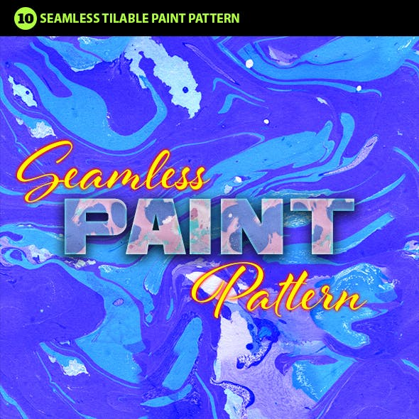 Abstract Paint Photoshop Pattern Vol.1