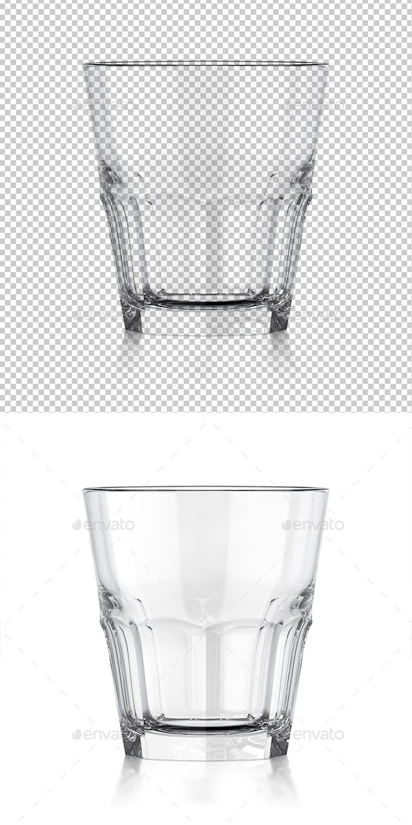 Whiskey Clear Glass. 3d Illustration - Objects 3D Renders