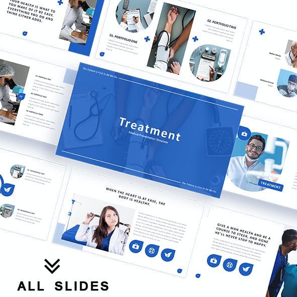 Treatment Medical Powerpoint Template