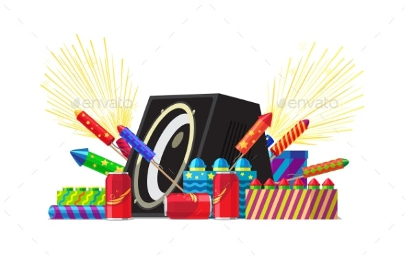 Fireworks Party - Miscellaneous Seasons/Holidays