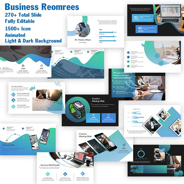 Business Reomrees PowerPoint Template