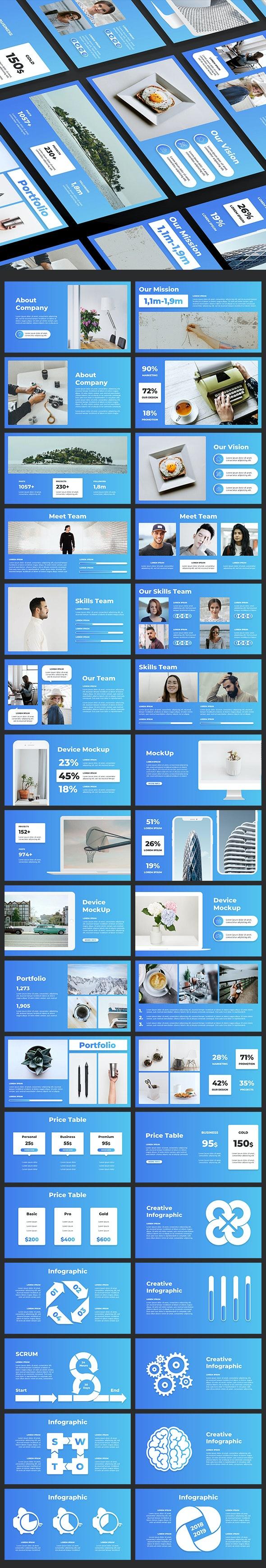 Pitch Deck Google Slide - Google Slides Presentation Templates