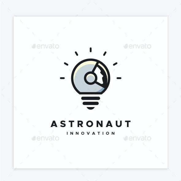Astronaut Innovation Logo