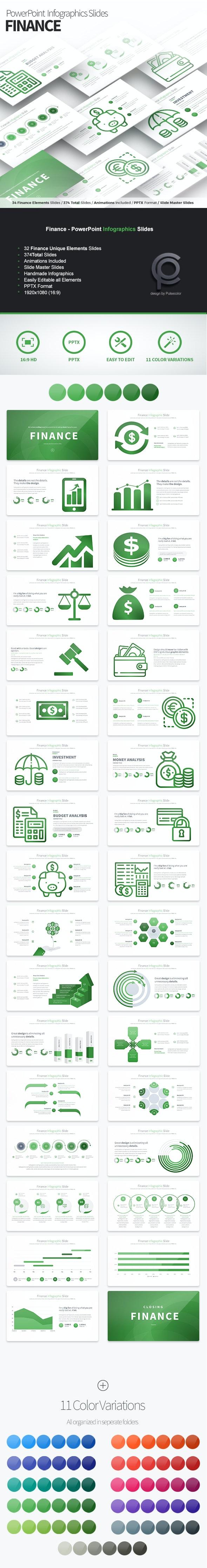 Finance - PowerPoint Infographics Slides - Finance PowerPoint Templates