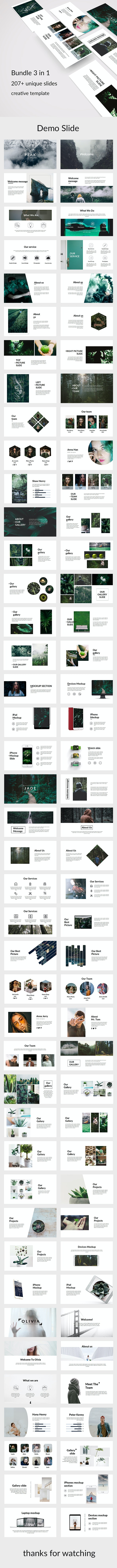 3 in 1 Premium - Marc 1 Powerpoint Template - Creative PowerPoint Templates
