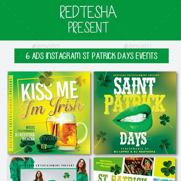 6 Instagram Saint Patrick Days Events