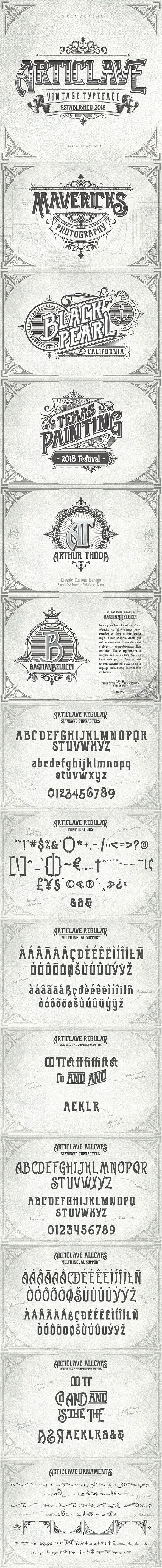 Articlave - Fancy Fonts