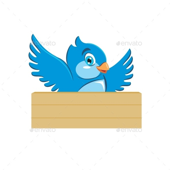 Blue Bird - Animals Characters
