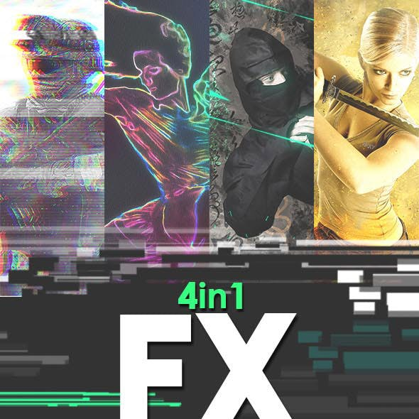 FX Photoshop Action Bundle v1
