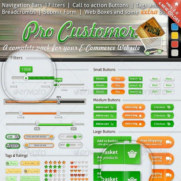 E-commerce UI Mega Pack