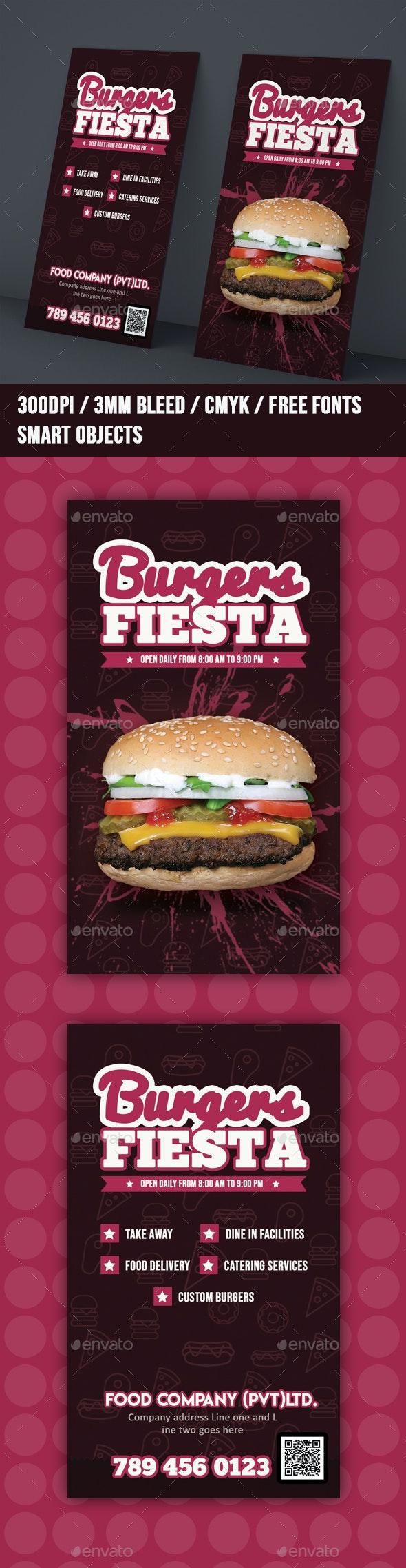 Grunge Restaurant Business Card Template - Grunge Business Cards