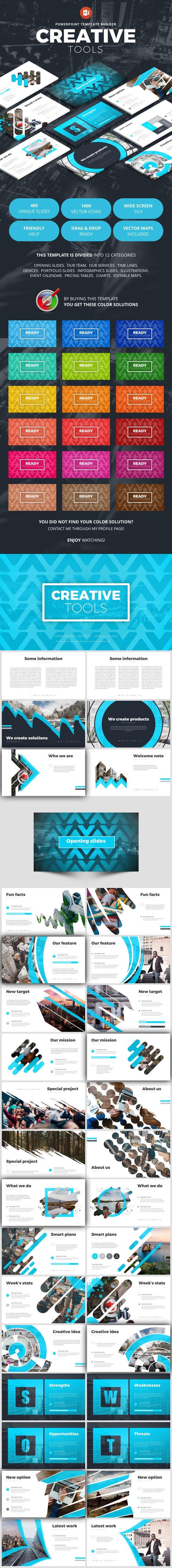 Creative Tools - Creative PowerPoint Templates