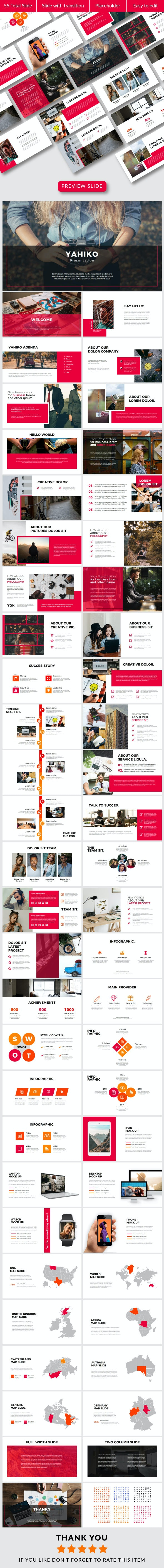 Yahiko Powerpoint Temp - Business PowerPoint Templates