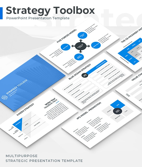 Strategy Toolbox Powerpoint Template By Jetz Graphicriver