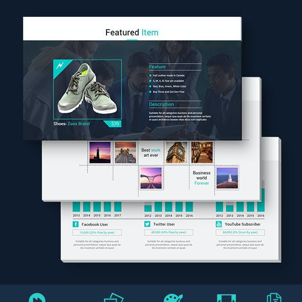 Simply - Pro & Editable Powerpoint Presentation Template