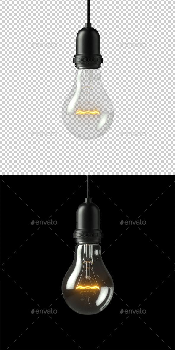 Lamp Light Bulb - Objects 3D Renders
