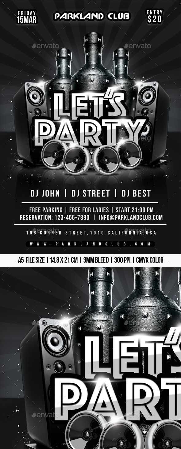 Lets Party - Clubs & Parties Events
