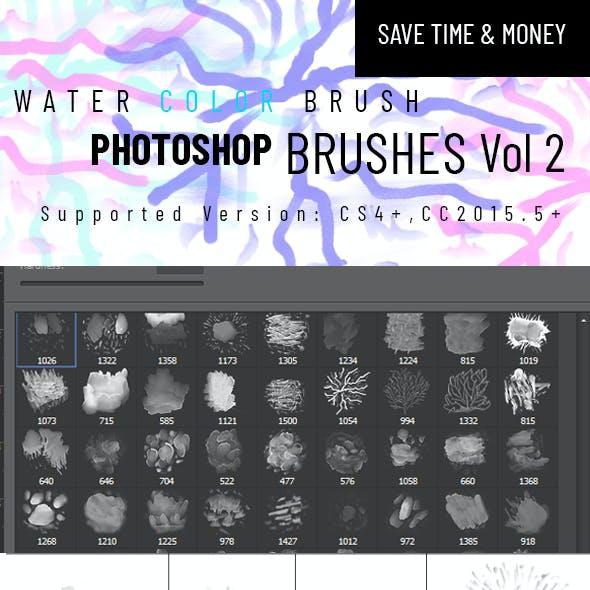Watercolor Brush Vol 2