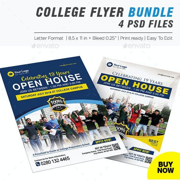 College Fair Flyer Bundle