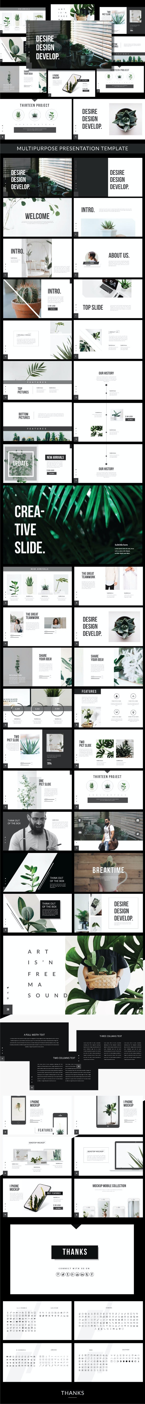 Desire Powerpoint Template - Business PowerPoint Templates