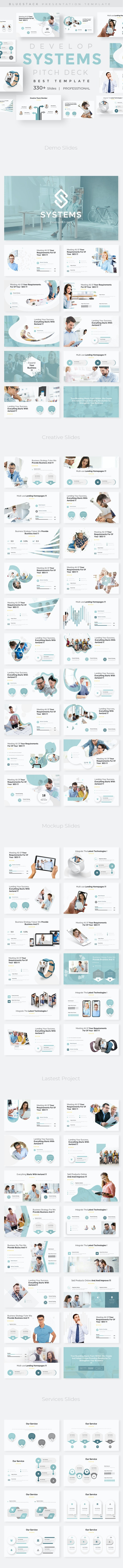 Develop Systems Pitch Deck Keynote Template - Business Keynote Templates