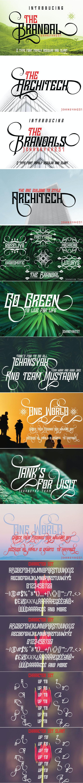 THE BRANDAL - Cool Fonts