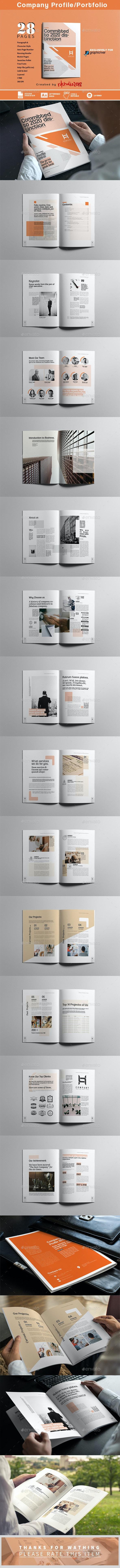 Company Profile - Portfolio Brochures