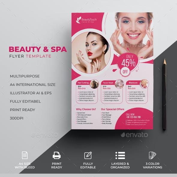 Beauty Flyer & Spa Flyer