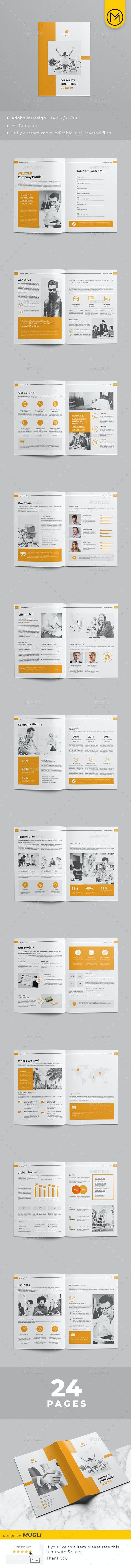 Company Profile v4 - Corporate Brochures