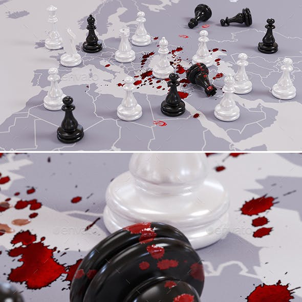 Bloody Geopolitical Chess Game