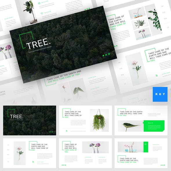 Tree - Green Energy Keynote Template