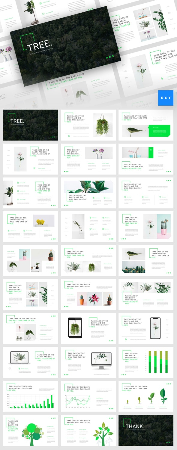 Tree - Green Energy Keynote Template - Nature Keynote Templates