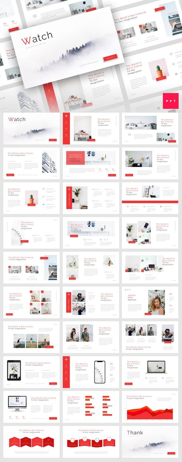 Watch - Creative PowerPoint Template - Creative PowerPoint Templates