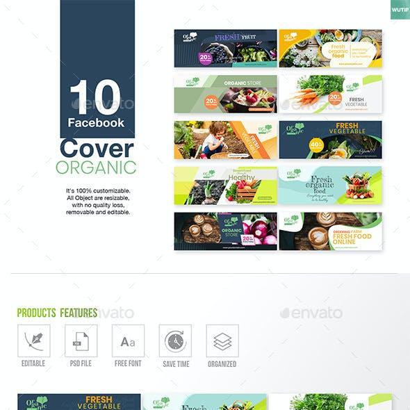 10 Facebook Cover - Organic