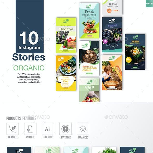 10 Instagram Stories - Organic