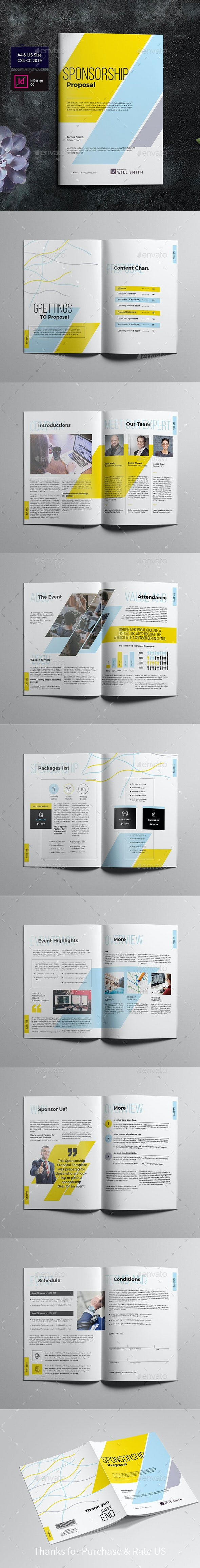 Sponsorship Proposal - Proposals & Invoices Stationery