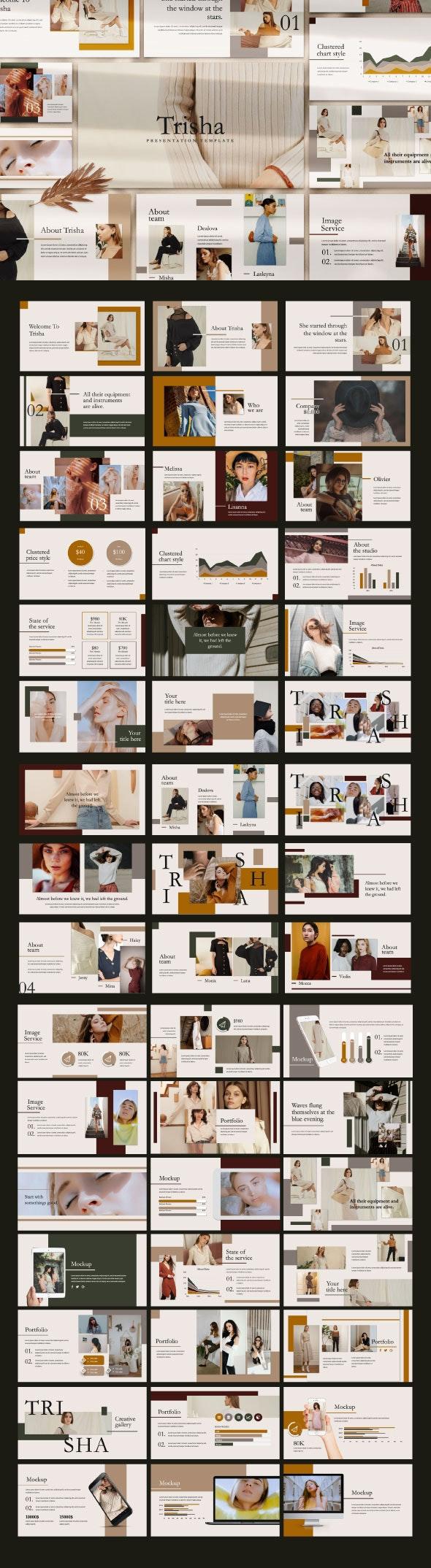 Trisha Powerpoint Template - Creative PowerPoint Templates