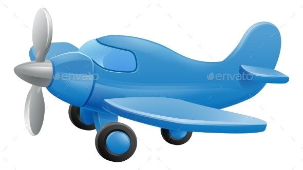 Airplane Cartoon - Miscellaneous Characters