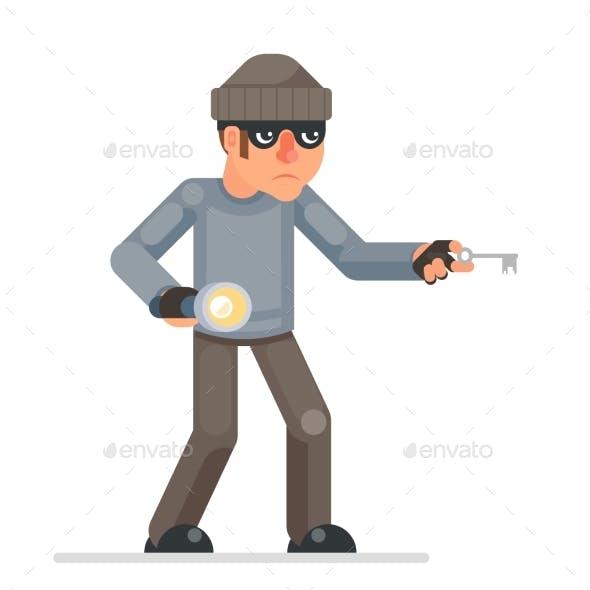 Picklock Housebreaker Thieves Keys