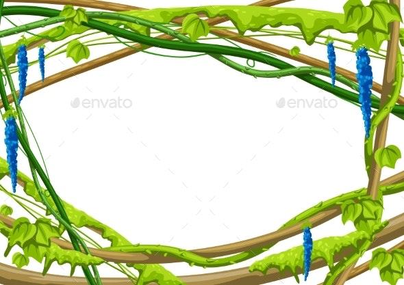 Frame Jungle Vines - Borders Decorative