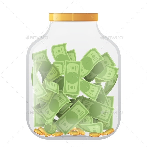 Money Economy Saving Bank Coin Banknote Deposit - Concepts Business