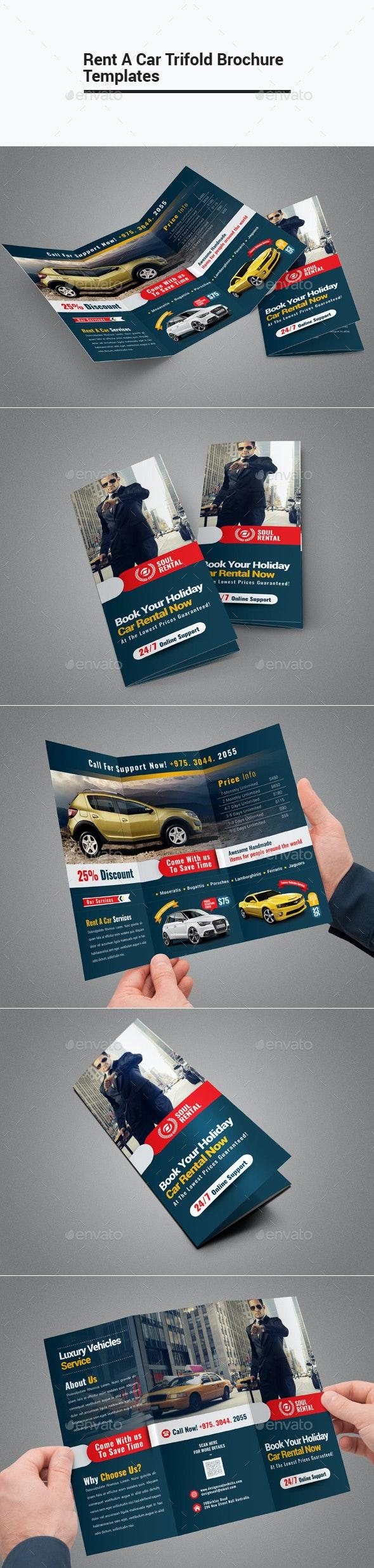 Rent A Car Trifold Brochure - Corporate Brochures
